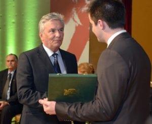 Józsefvárosi Aranykoszorú díjátadó