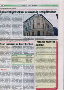 Józsefváros Önkormányzati lap 2004/11. szám