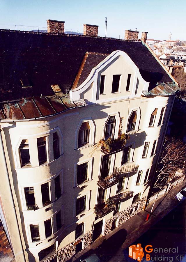 6 lakás építése - Márvány u. 7.