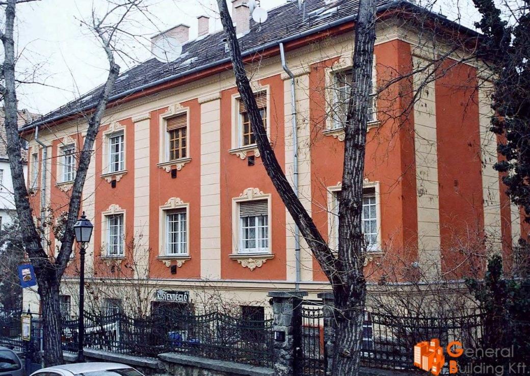 Műemlék épület felújítás - Zsolt u. 5.
