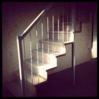 Hattyú 7 beltéri lépcsők
