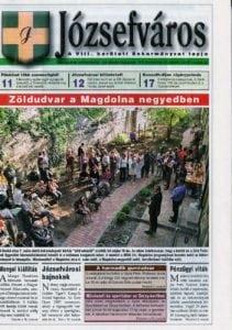 Józsefváros Önkormányzati lap 2007/10. szám