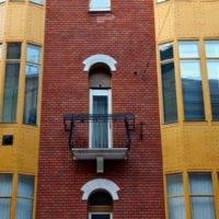 Eötvös 29 homlokzat felújítás