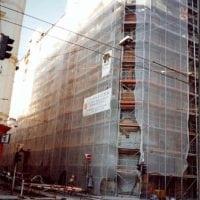 Mária utca 32-34. homlokzat felújítás