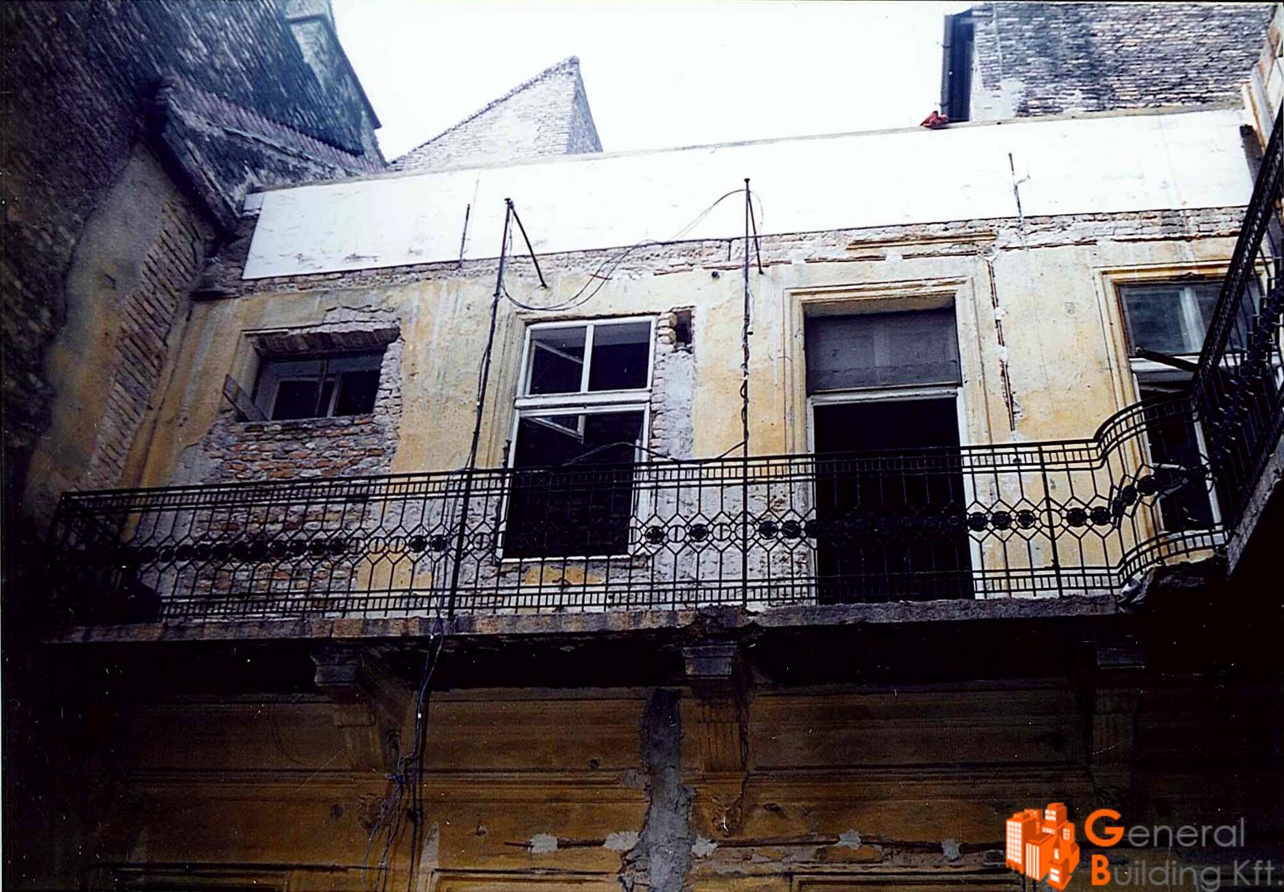 Mária utca épületrehabilitáció