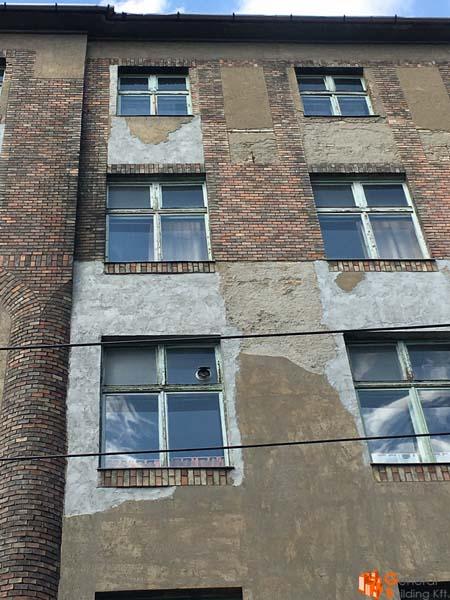 Szörény u homlokzat felújítás