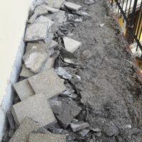 Népszínház u. 24. Függőfolyosók felújítása