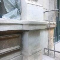 Vadász utca homlokzat felújítás