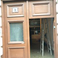 Vámház krt. 9. új kapu gyártása és felújítása