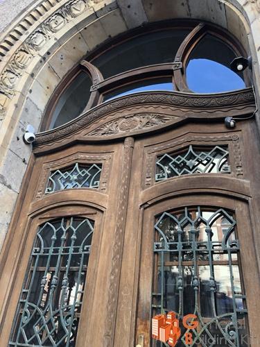 Bejárati kapu felújítása - OMSZ