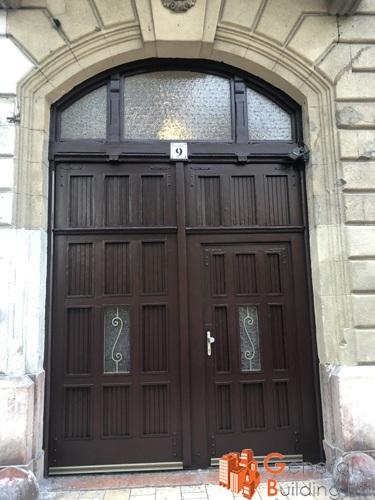 Bejárati kapu felújítása - Henszlmann Imre utca 9