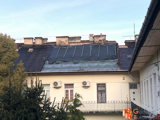 Magastető részleges felújítása - Ostrom utca 31