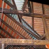 Raday utca 26. magastetők felújítása