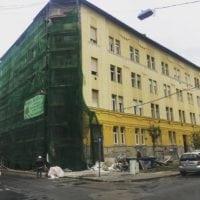 Balázs Béla 30 homlokzat felújítás