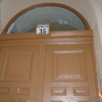 Kazinczy utca 35. bejárati kapu felújítása