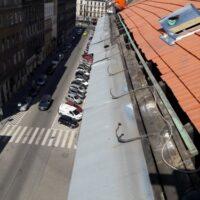 Kiss József utca 8.-magastető felújítás