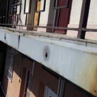 Karcag utca 54 függőfolyosó felújítás